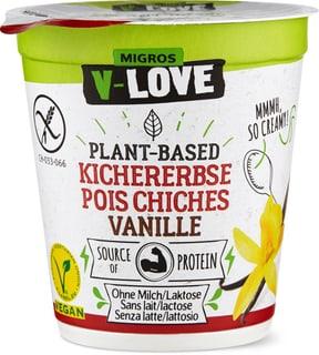 V-Love Vegurt Kichererbsen Vanille