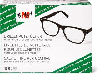 M-Budget Lingettes de nettoyage pour lunettes
