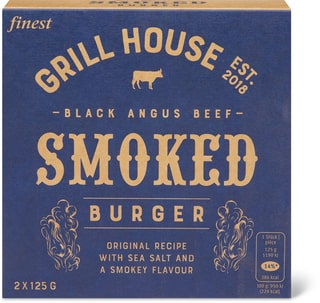 Grill House Smoked Burger