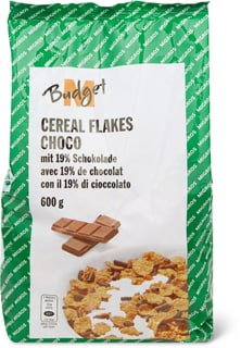 M-Budget Cereal flakes choco
