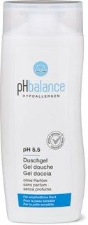 pH balance gel douche sans parfum