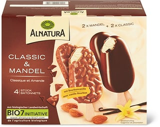 Alnatura Glace Classic & Mandeln