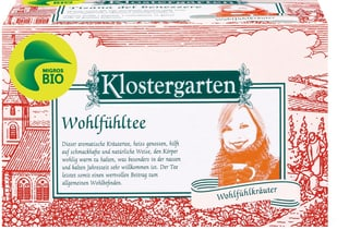 Bio Klostergarten Wohlfühltee
