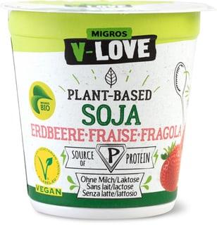 Bio V-Love Vegurt Soja Erdbeere