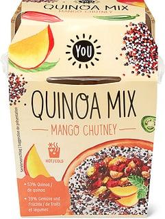 YOU Max Havelaar Quinoa mango chutney