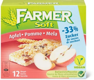 Farmer Soft Pomme -33% de sucre