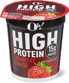 Oh! High Protein Erdbeere