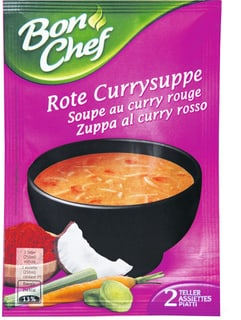 Bon Chef rote Currysuppe