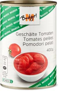M-Budget geschälte Tomaten