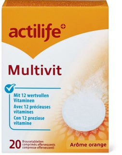 Actilife Multivit Orangen Aroma