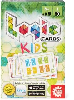 Logic Cards Kids Gesellschaftsspiel