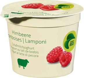 Bio Joghurt aus Schafmilch Himbeere