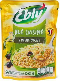 Ebly express nature à l'huile d'olive