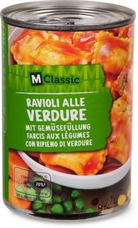 M-Classic Ravioli aux légumes