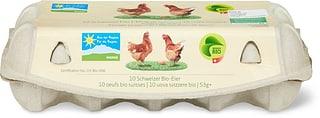 Bio Schweizer Eier Freilandhaltung