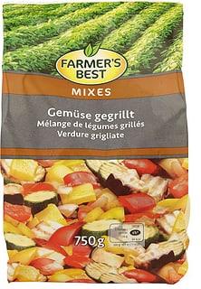 Farmer's Best Gemüse gegrillt