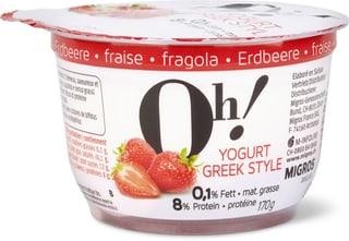 Oh! Yogurt Greek style Erdbeere