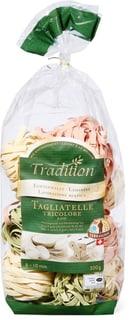 Tagliatelles tricolores Tradition Terrasuisse