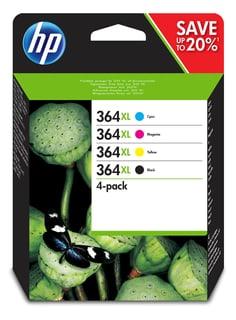HP Combopack 364XL N9J74AE Cartouche d'encre