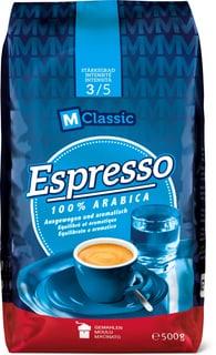 M-Classic espresso 100% Arabica macina.
