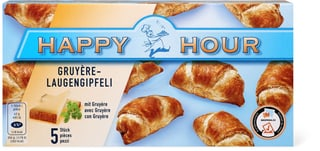 Happy Hour Gruyère-Laugengipfeli