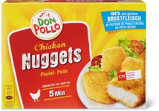 Don Pollo Nuggets Pouletbrust