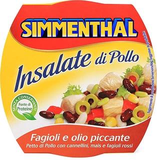 Simmenthal insalata Pollo fagioli