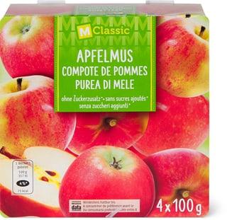 M-Classic Apfelmus ohne Zuckerzusatz