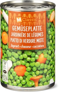 M-Classic Gemüseplatte nach Jägerart