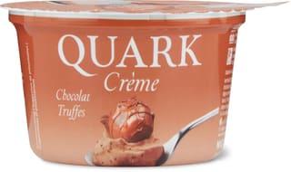 Quark Crème Chocolat Truffes