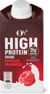 Oh! High Protein Himbeer Drink