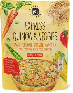 Bio YOU Express Quinoa & Veggies