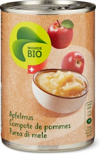 Bio Purea di mele